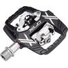 XLC PD-S19 Pedalen tweezijdig zwart/zilver
